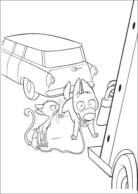 32 Coloring Pages Of Bolt