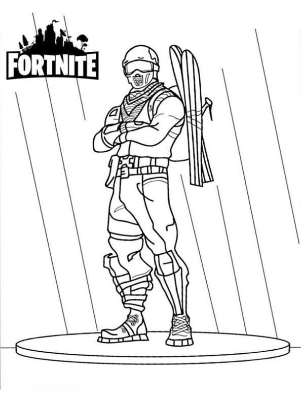 Kids-n-fun 37 Ausmalbilder von Fortnite