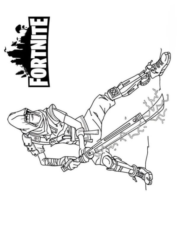 Kids-n-fun Malvorlage Fortnite Fortnite battle royale 5