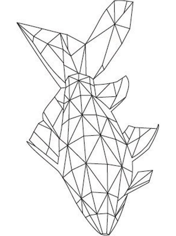 Kids-n-fun Malvorlage Geometrische Formen