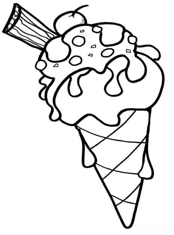 Kids-n-fun Malvorlage Eis Eis