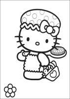 Kids n fun.de   Malvorlage Hello Kitty Hello Kitty