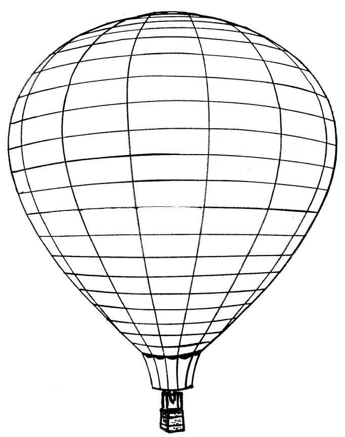 Kids-n-fun Malvorlage Luftballons Luftballons