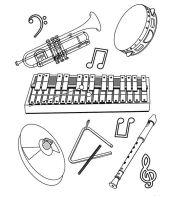 Kids n fun.de   62 Ausmalbilder von Musikinstrumente