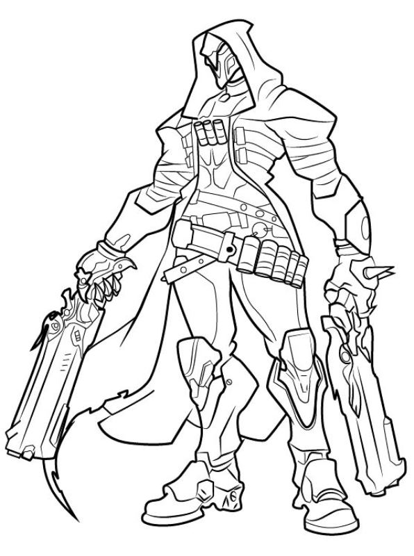 Genji Overwatch Skin White Tiger