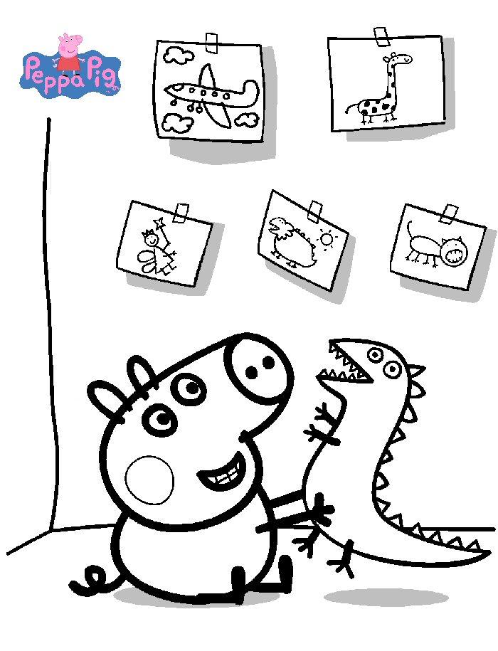 Kids-n-fun 20 Ausmalbilder von Peppa Pig