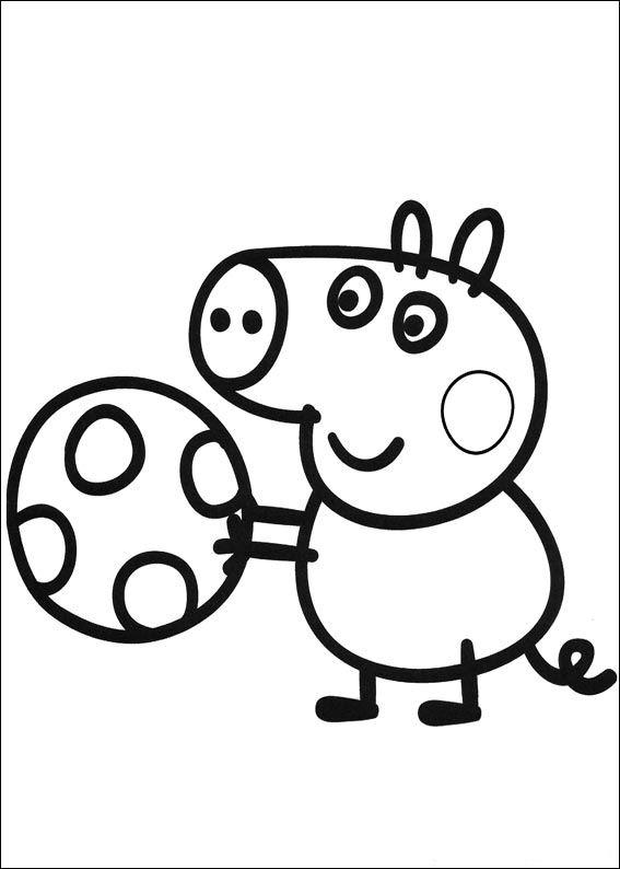 Kids-n-fun Malvorlage Peppa Pig Peppa Pig