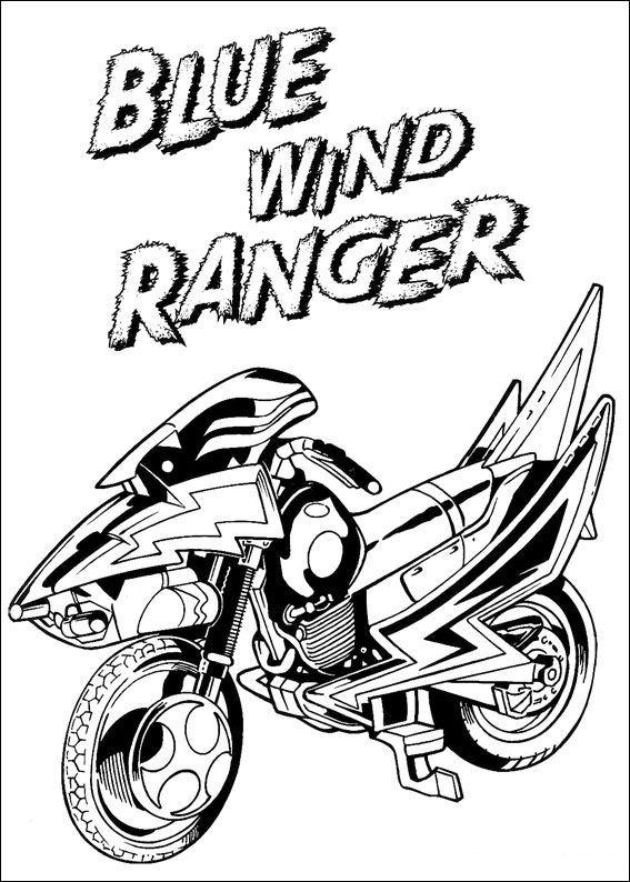 Kids-n-fun Malvorlage Power Rangers Power Rangers