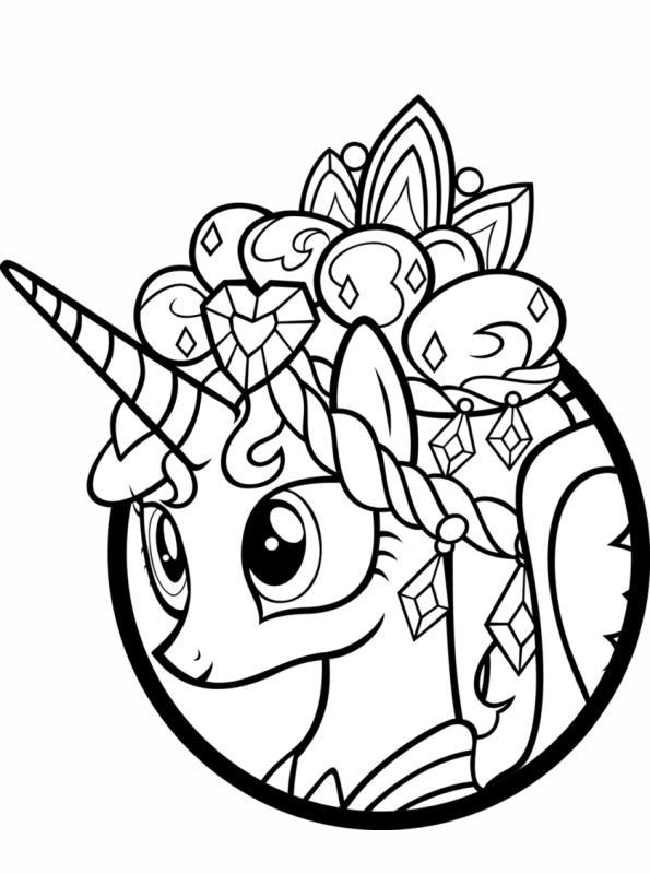 My Little Pony Malvorlage