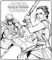 Kids n fun.de   Malvorlage Star Wars Rise of Skywalker ...