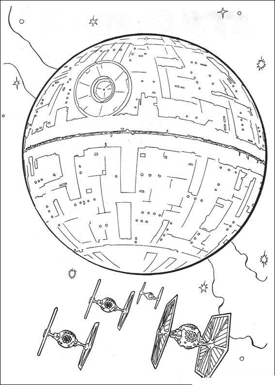 Kids-n-fun 67 Ausmalbilder von Star Wars