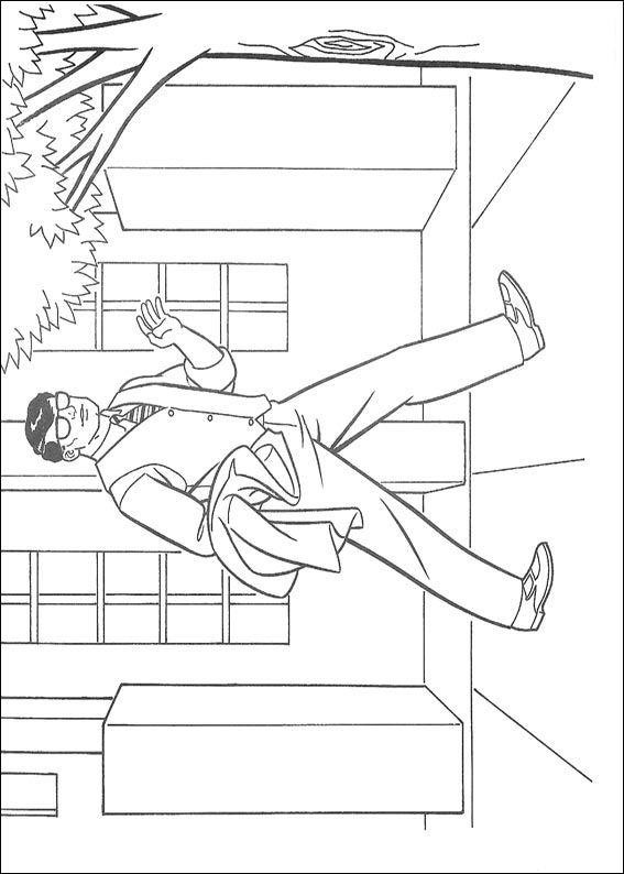 Kids-n-fun Malvorlage Superman Superman