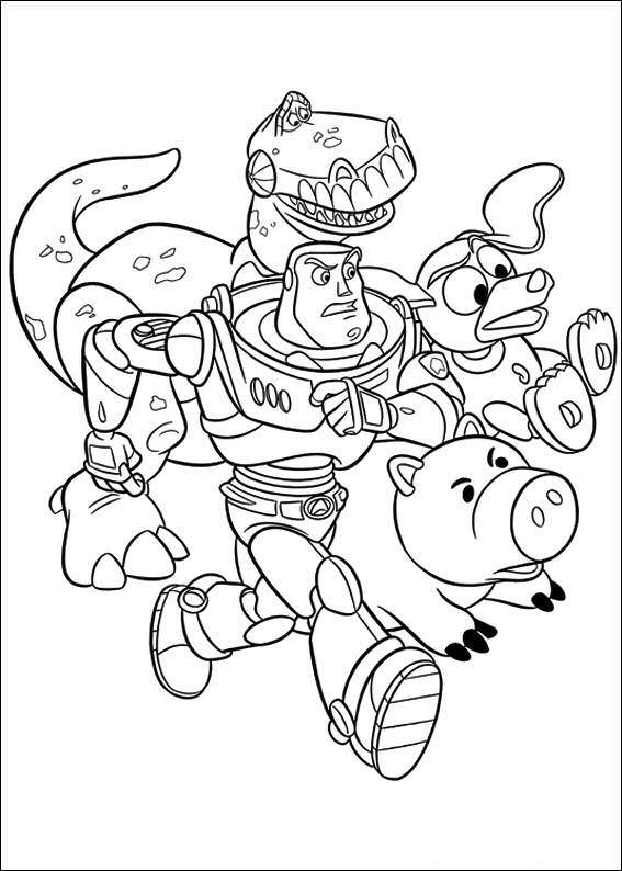 Kids-n-fun Malvorlage Toy Story 3 Toy Story 3