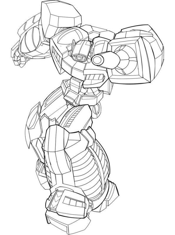 Kids-n-fun Malvorlage Transformers Rescue Bots Rescue