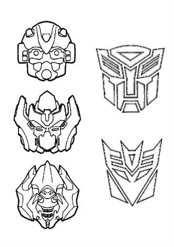 Kids-n-fun 33 Ausmalbilder von Transformers