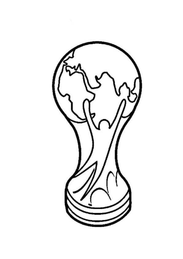 Kids-n-fun Malvorlage Fussball Fifa world cup