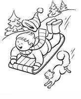 Kids n fun.de   Malvorlage Winter Winter