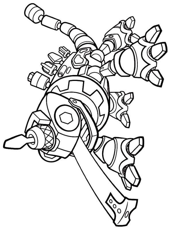 Kidsnfun  7 Kleurplaten van Dinotrux