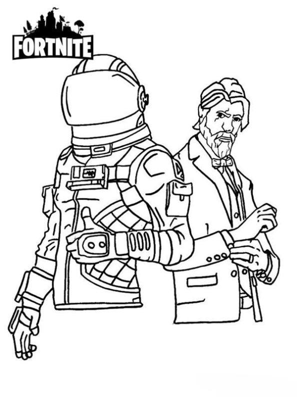 How To Draw Skull Trooper Fortnite Battle Royale