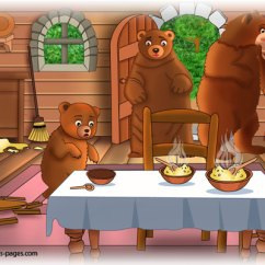 Baby Chairs For Eating Chair Covers Bar Goldilocks And The Three Bears 6