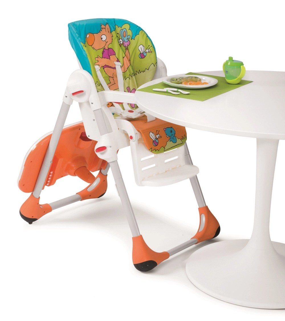 peg perego tatamia high chair cheetah print parsons chairs chicco highchair polly 2 in 1 - buy at kidsroom | living & sleeping