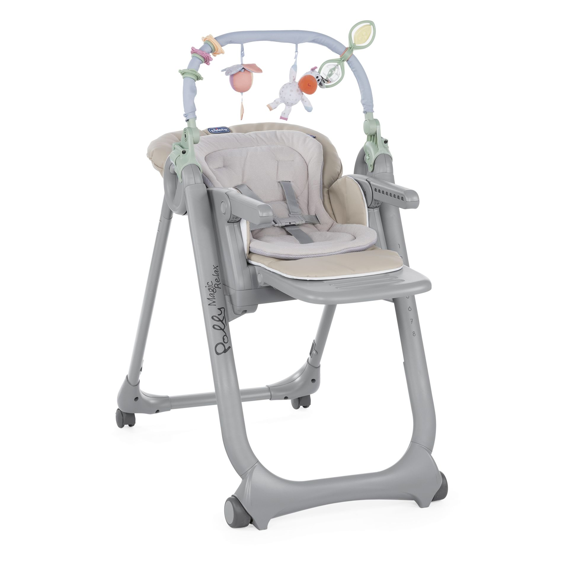 Chicco Highchair Polly Magic Relax 2018 BEIGE  Buy at