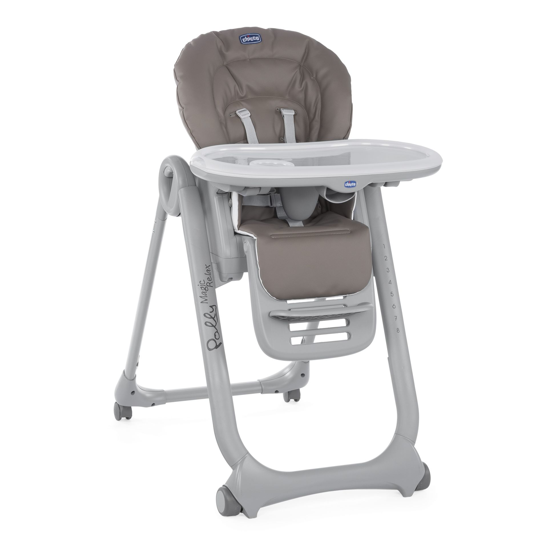 4moms high chair types of couches and chairs chicco highchair polly magic relax 2018 dove grey - buy at kidsroom | living & sleeping