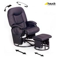 Hauck Nursing Chair Metal Glider Recline 2018 Black - Buy ...