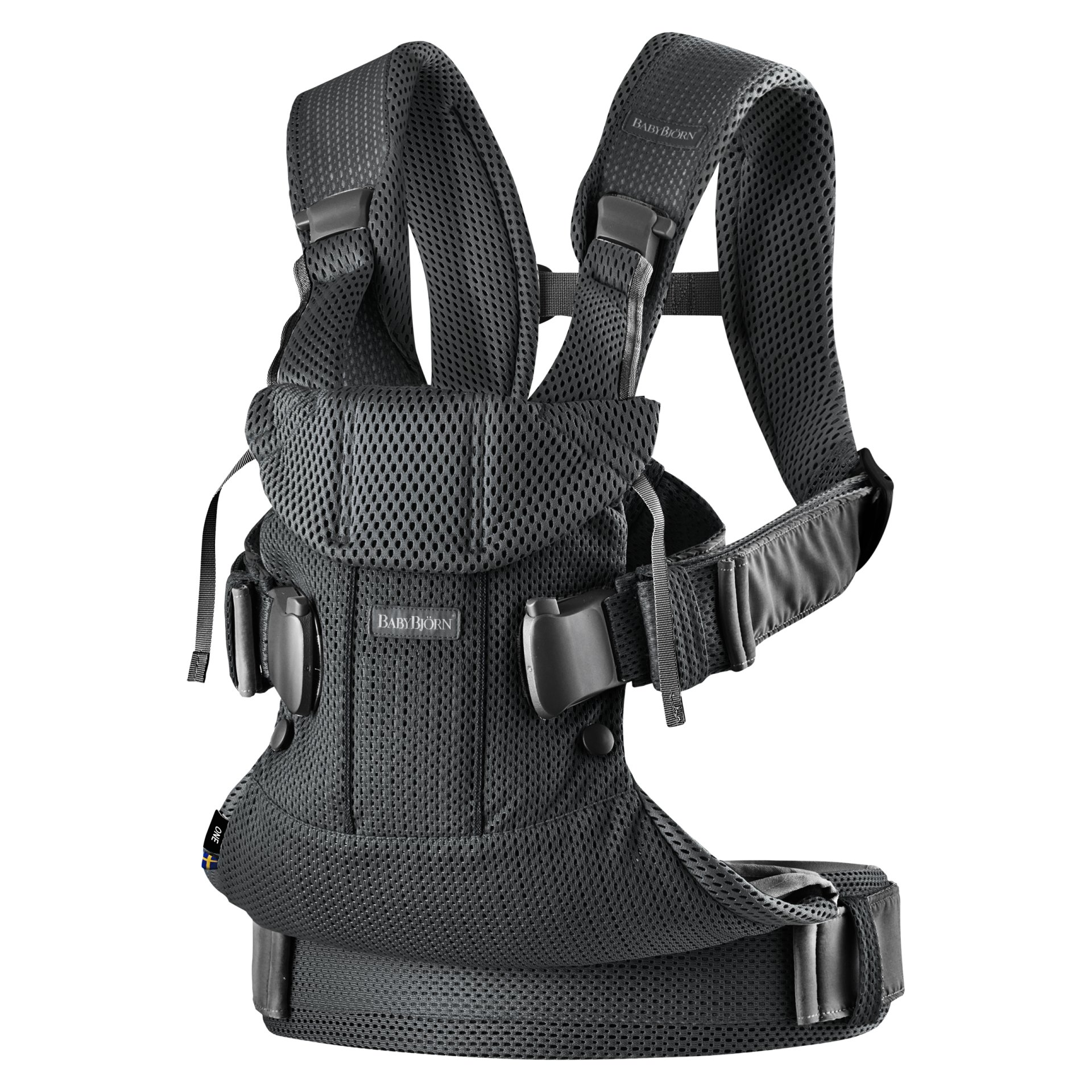 baby bjorn booster chair swivel jude carrier one air 2019 schwarz buy at kidsroom design