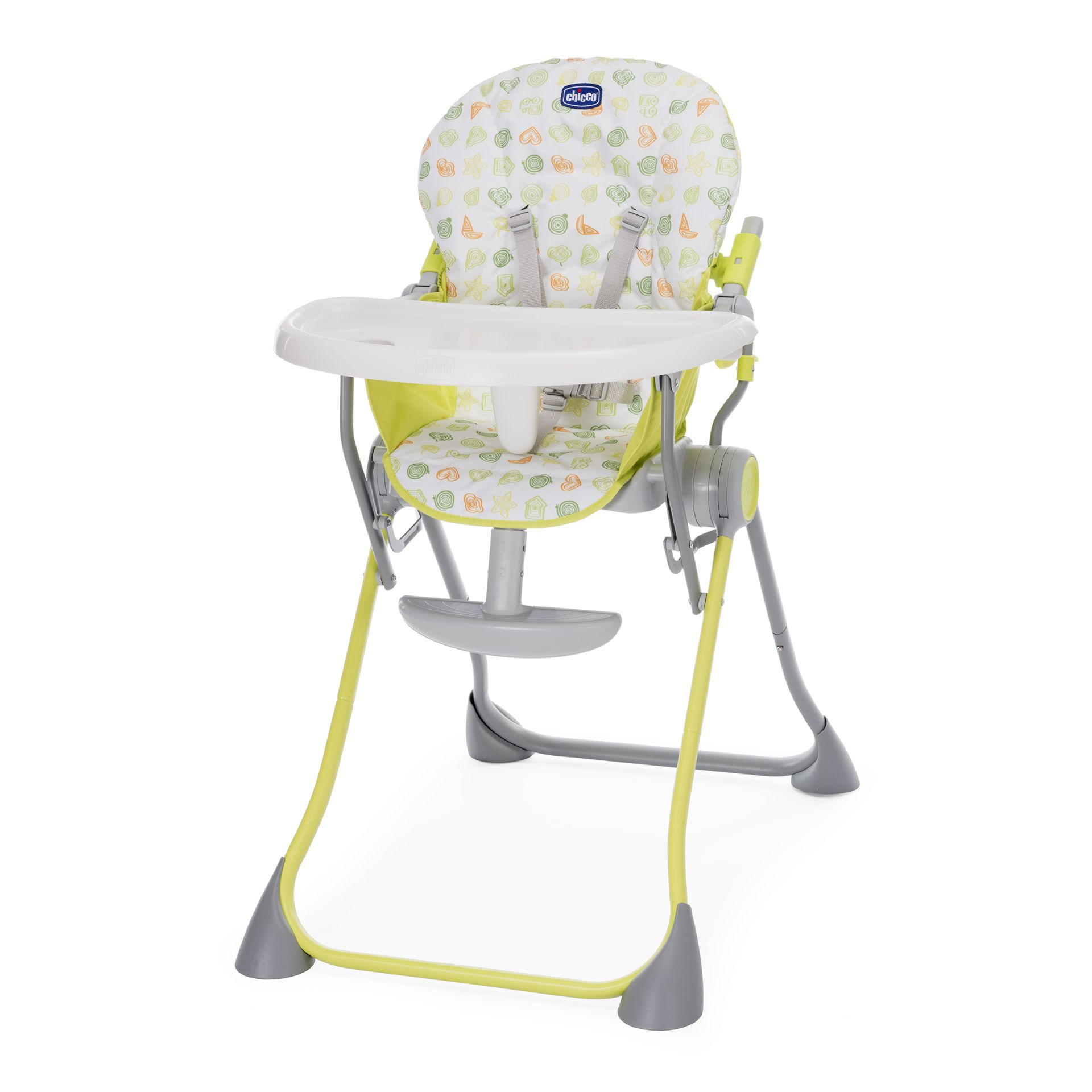 green high chair reupholster leather chicco highchair pocket meal 2018 apple buy at kidsroom design