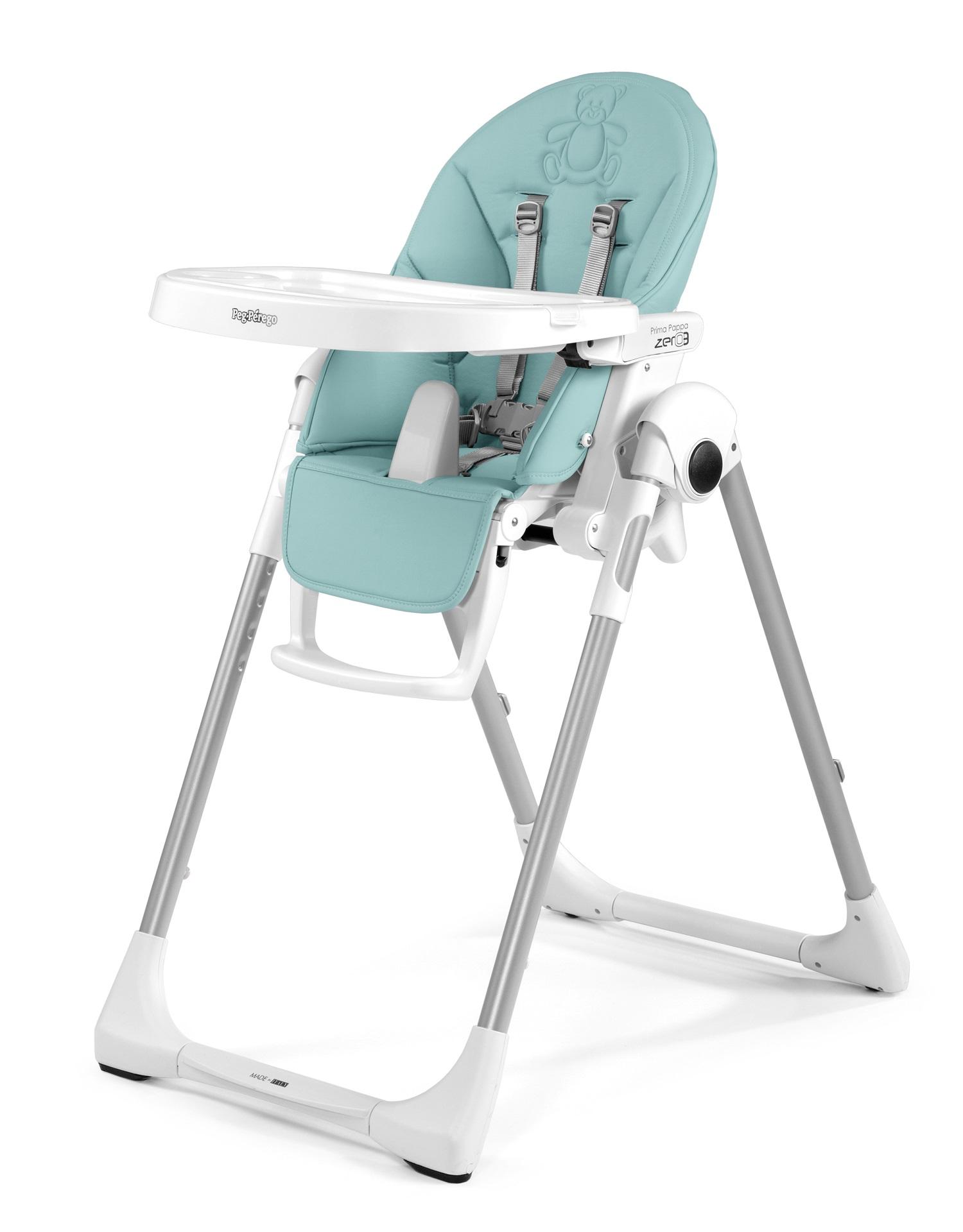 peg perego tatamia high chair contemporary bar chairs prima pappa zero3 2018 bear azul