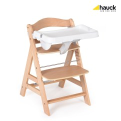 Hauck High Chair Sofa And Covers Canada Tray Alpha Buy At Kidsroom Living Sleeping