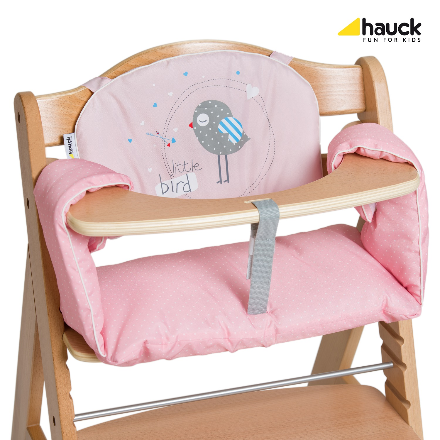 hauck high chair lazy boy lift chairs for sale seat pad comfort 2018 birdie buy at