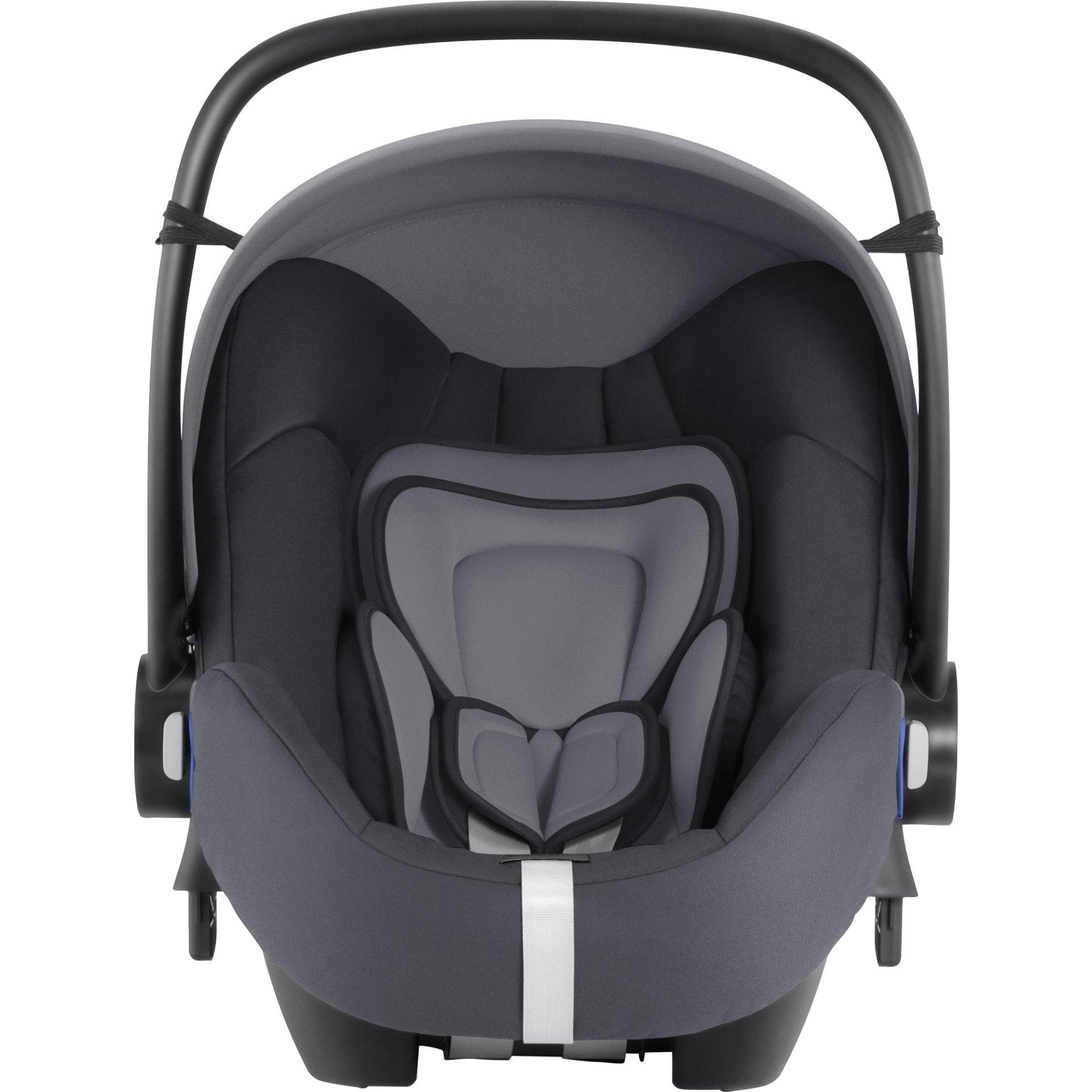 Britax Römer 嬰兒提籃 Baby Safe 2 i-Size 含i-Size底座 Storm Grey   kids-room.com