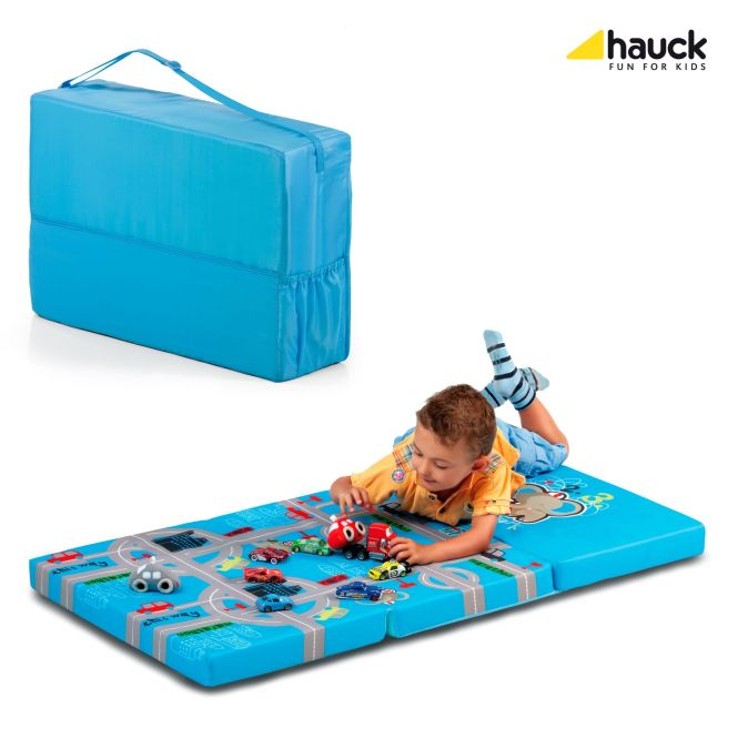 Hauck Sleeper Travel Cot Mattress Playpark 2018 Large Image 1