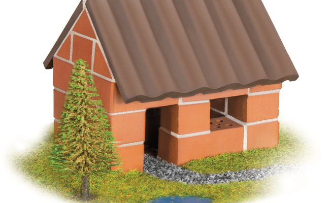 Teifoc Brick Building Set Small House Buy At Kidsroom