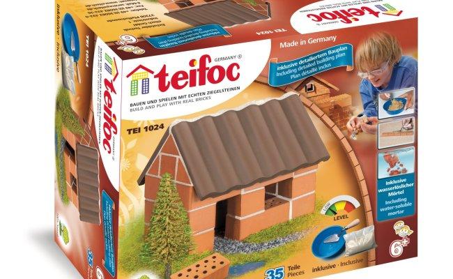 Teifoc Brick Building Set Small House Buy At Kidsroom