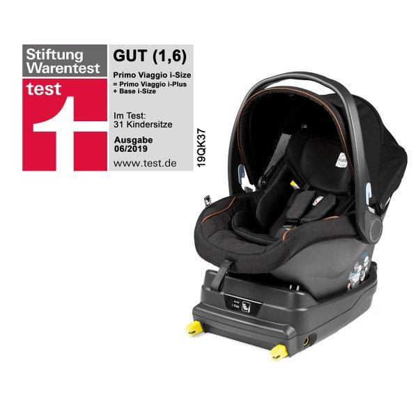 Peg-perego Infant Car Seat Primo Viaggio -size Base 2019 Ebony - Kidsroom