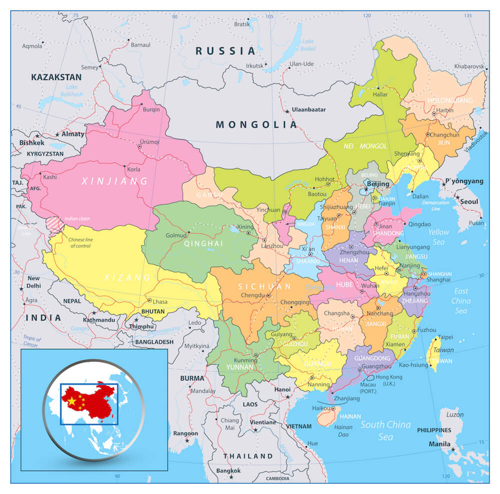 hight resolution of China Facts for Kids   China for Kids   Geography   Attractions