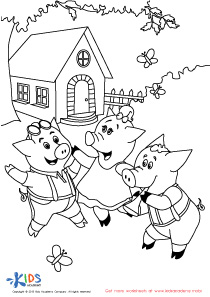 The three little dancing pigs