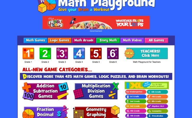 Mathplayground Is Certified By The Kidsafe Seal Program