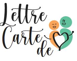 Lettres et cartes de coeur