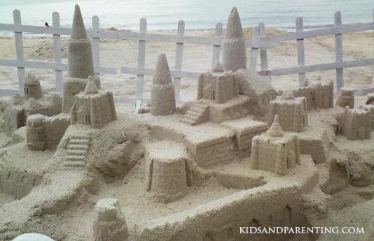east-coast-park-sandcastles
