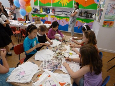Children's art projects in NYC