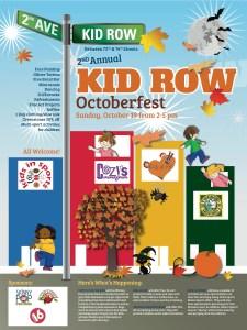Kid Row FALLposter_2014