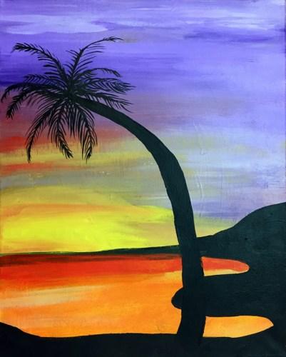 Palm Sunset