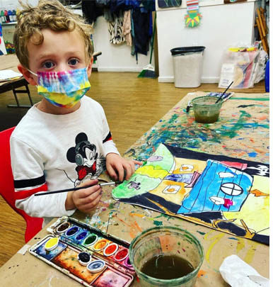art and sports summer classes