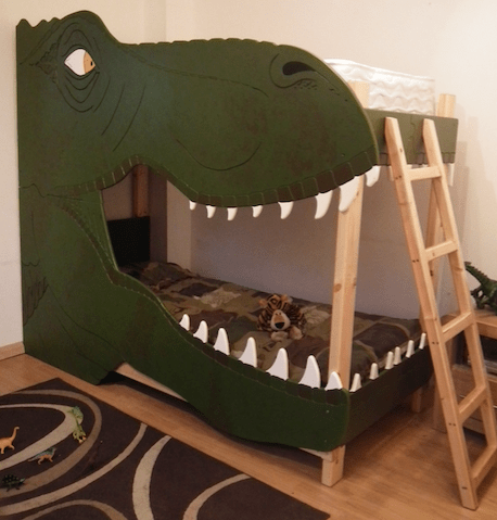 The Most Amazing Dinosaur Bedrooms Kids Bedding Dreams - T rex bed