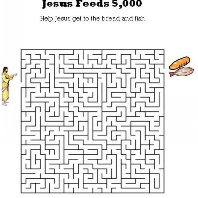 JESUS FEEDS 5000 COLORING PAGES « Free Coloring Pages