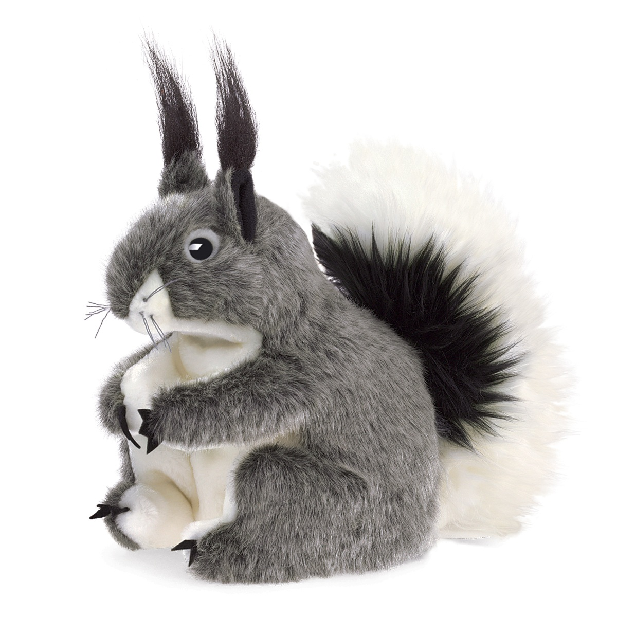 Abert S Squirrel Hand Puppet By Folkmanis Puppets